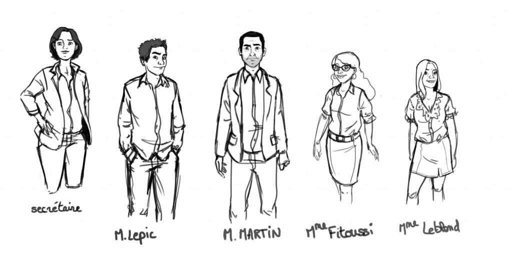 Character design adultes