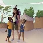 Illustration faite bénévolement pour une école du Burkina Fasso