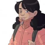 héroine bd illustration